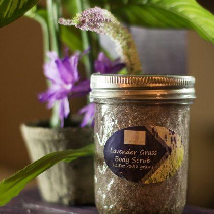 Lavender Grass Body Scrub