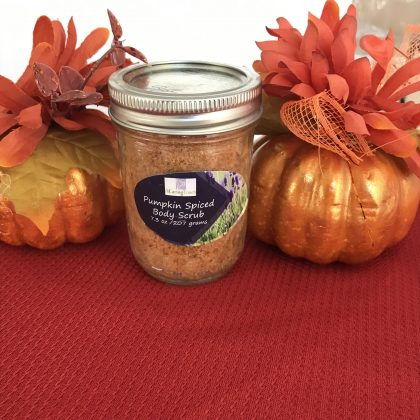Pumpkin Body Scrub Featured Image