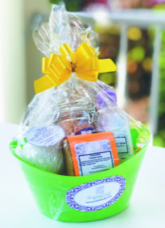 Small Pumpkin Basket