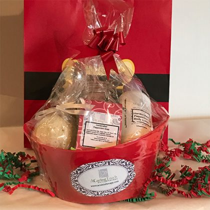 Small Christmas Gift Basket Featured Image