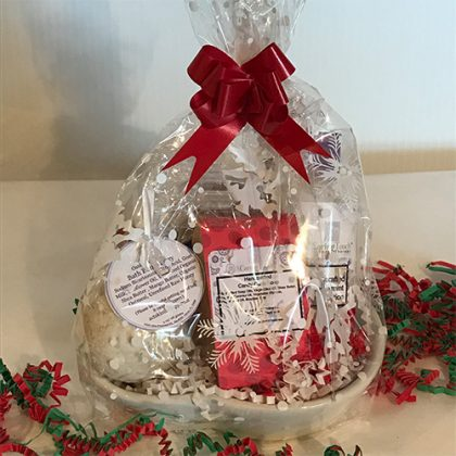 Glass Gift Basket Featured Image